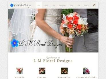 L M Floral Designs Screenshot Small