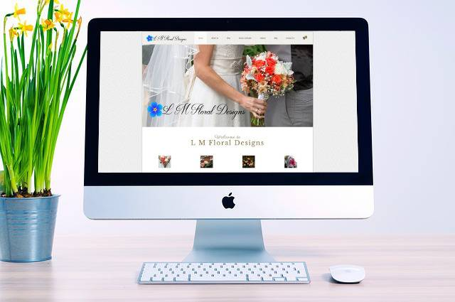 L M Floral Designs Website Development