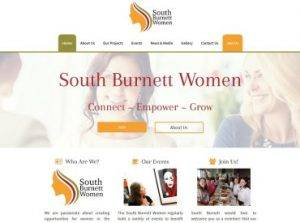 South Burnett Women Website Redevelopment Not for profit by Impulse Impressions