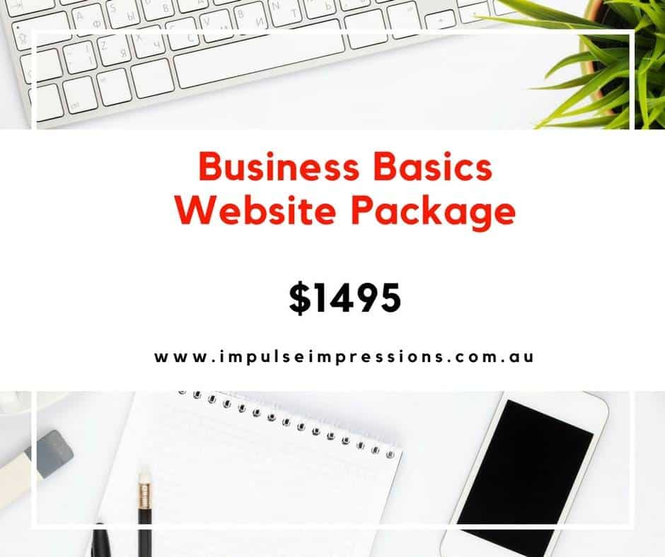 Business Basics Website Packages