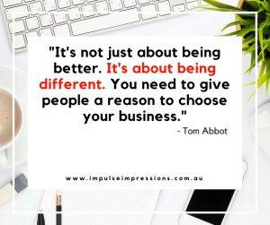 Business Quote - Tom Abbot