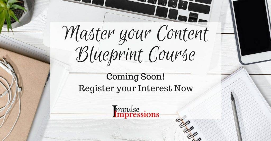 Master Your Content Blueprint Course by Impulse Impressions