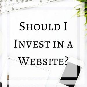 Should I Invest in a Website?