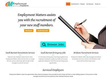 Employment Matters Website Design