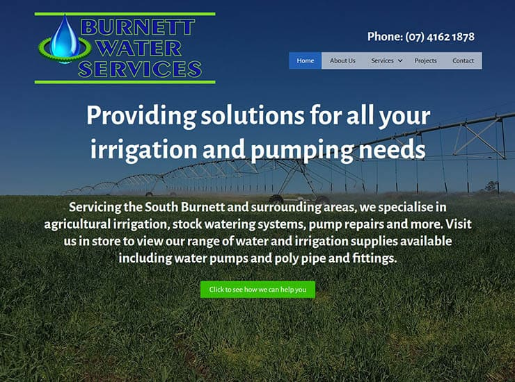 Burnett Water Services Portfolio Image