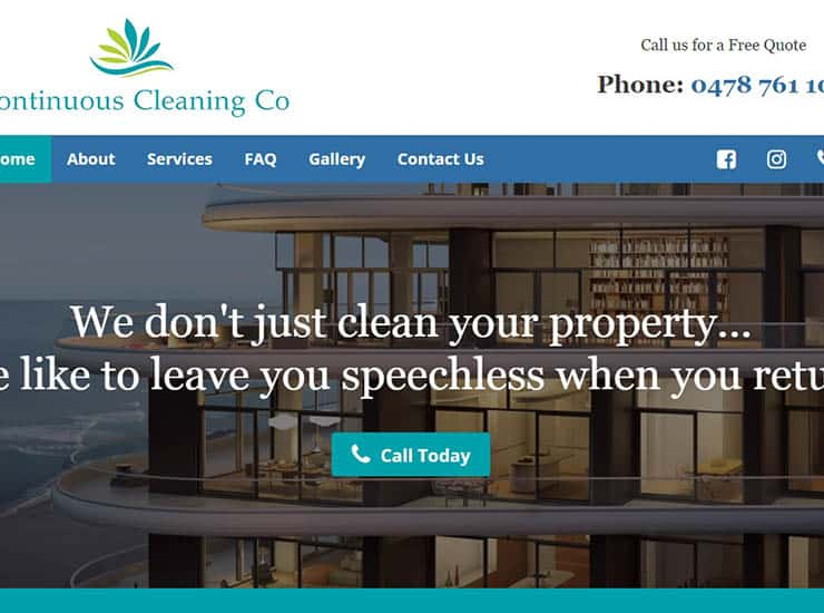 Continuous Cleaning Co Portfolio Image