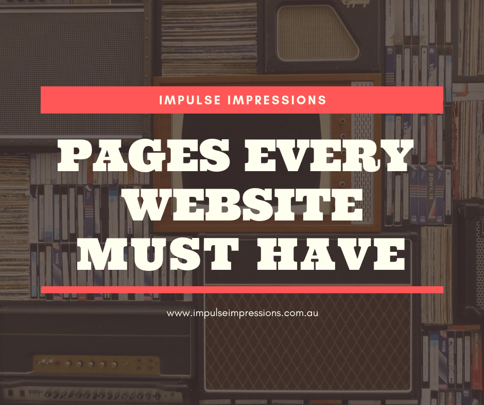 Pages Every Website Must Have