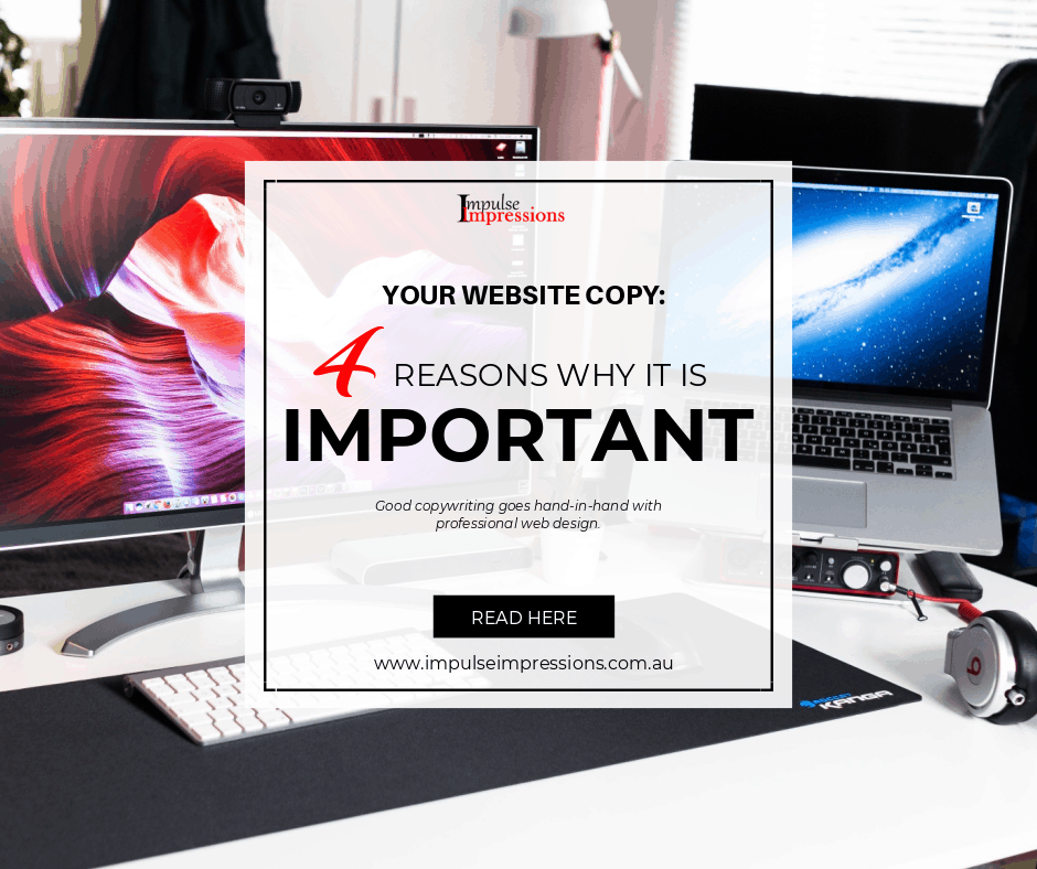 Website Copy_ 4 Reasons Why it is Important