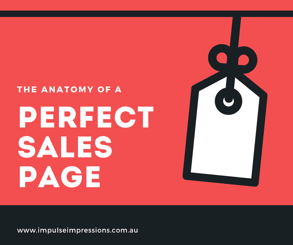 The Anatomy of a Perfect Sales Page