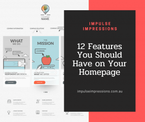 12 Features You Should Have on Your Homepage