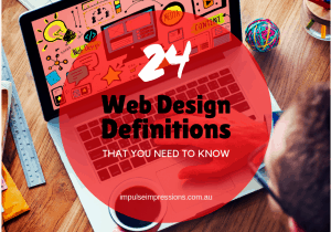24 Web Design Definitions That You Need To Know