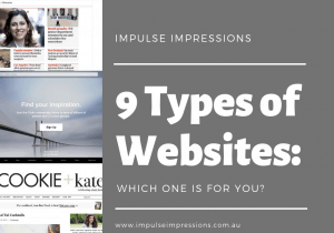 9 Type Of Websites