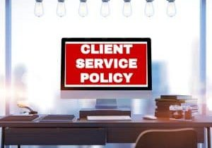 Client Service Policy
