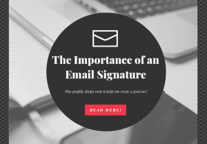 The Importance of an Email Signature