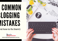 7 Common Blogging Mistakes