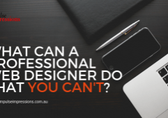 What Professional Web Designers Do